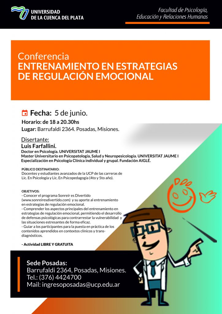 Entrenamiento en Estrategias de  Regulación Emocional