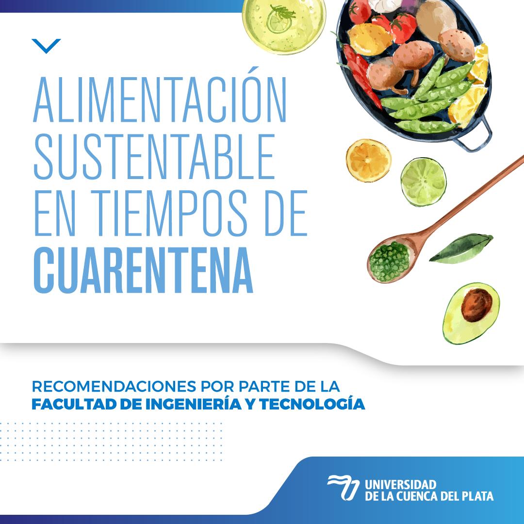 Recomendaciones de alimentación sustentable